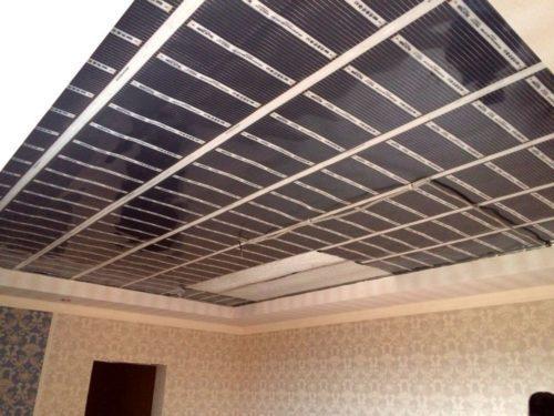 Инфракрасный теплый потолок. Характеристики пленочного инфракрасного отопления на потолок
