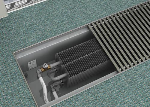 Внутрипольные конвекторы водяного отопления. Водяной конвектор