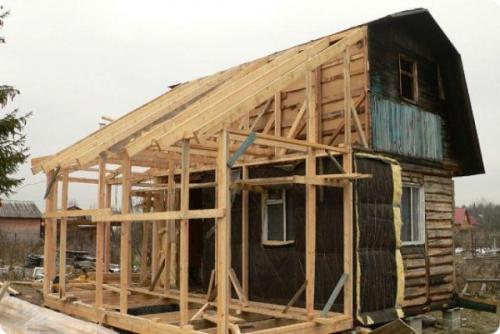 Пристройка Веранды к деревянному дому. Что следует знать в самом начале