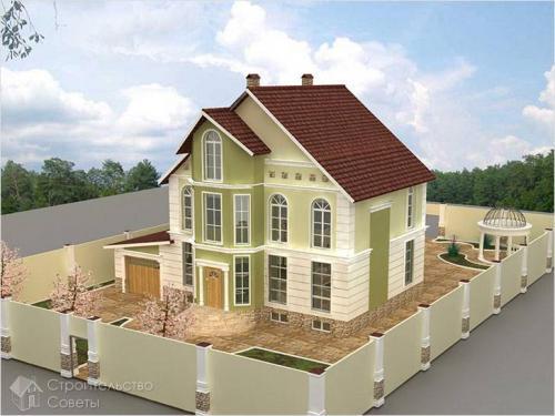Постройка своими руками дома из блоков. Преимущества материала