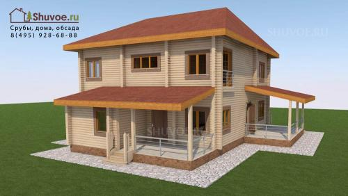 Смета на дом из бруса 8 н.  Смета на строительство дома