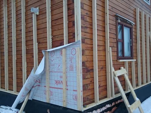 Утепление домов из бруса снаружи. Утепление дома из бруса снаружи