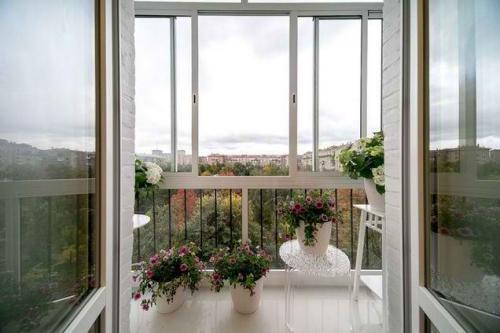 Французское окно вместо балконного блока. Установка французского окна вместо балконного блока