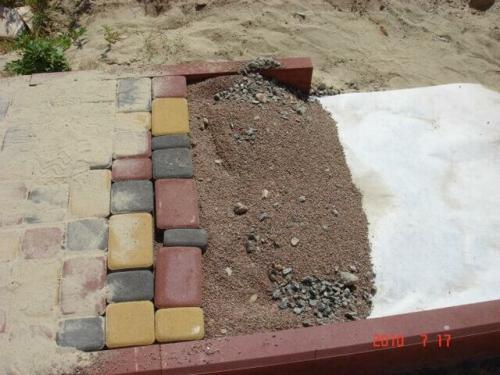 Тротуарная плитка на что укладывается. Как правильно укладывать тротуарную плитку. Пошаговая инструкция