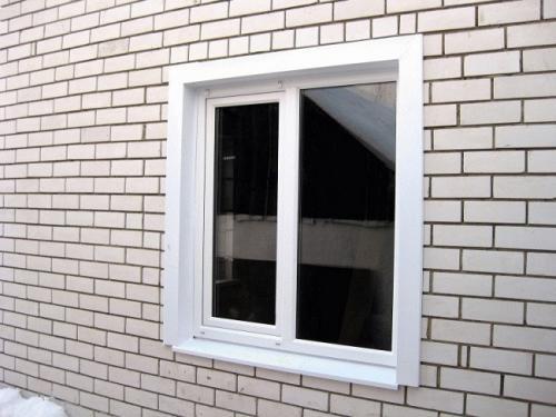 Внутренние наличники на окна. Разновидности