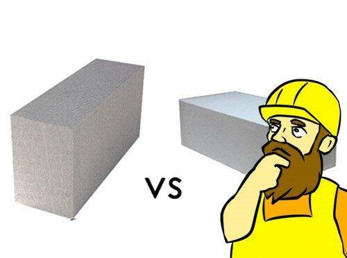 Сравнение пенобетона и газобетона. Как отличить газоблок от пеноблока? Что лучше и почему их все путают?