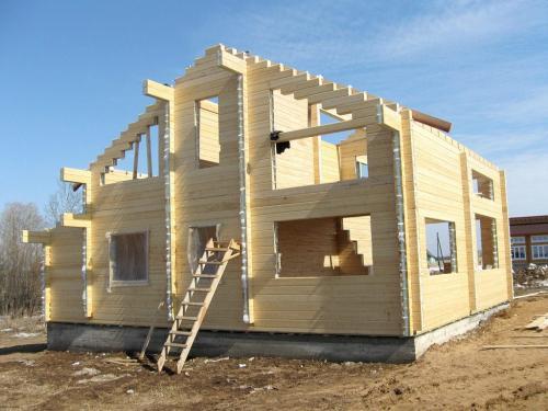 Сборка дома из клееного бруса. Как построить дом из клееного бруса в 9 шагов