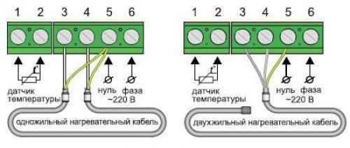 Как подключить теплый пол к выключателю. Как подключить теплый пол к электросети