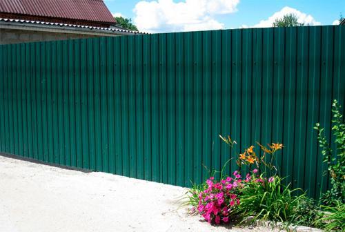 Забор из профлиста своими руками чертежи и расчет. Разбираем поэтапно –, как сделать забор из профнастила
