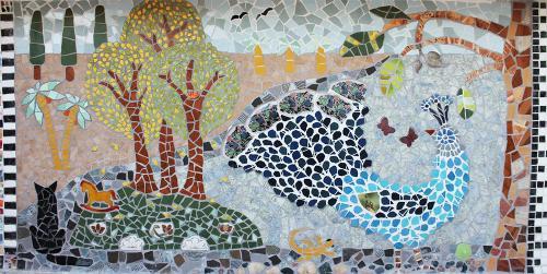 Плиточная мозаика своими руками. Мозаика из битой плитки – своими руками дизайн и облицовка + видео