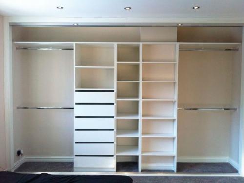 Как сделать шкаф в нише своими руками. Встроенный шкаф своими руками: удобная мебель плюс минимум затрат