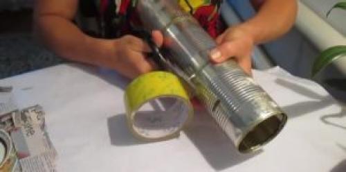 Генератор дыма для холодного копчения. Простейший дымогенератор из консервных банок