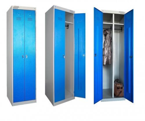 Шкафчики для раздевалок металлические. Преимущества и недостатки